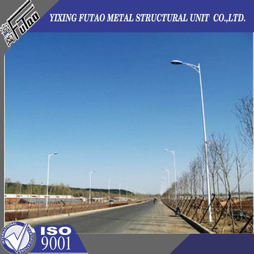 10M 12M Polygonal steel lighting poles