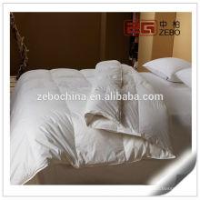 100% tela de algodón con máquina de relleno de microfibra Washable Hotel Collection Duvet