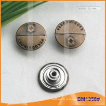 Botões metálicos ocidentais BM1358