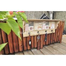 Home Organizer Rack in Wooden