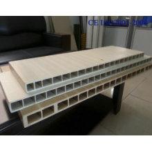 Línea de producción de perfil de puerta plástica de madera WPC (SJSZ-65/132)