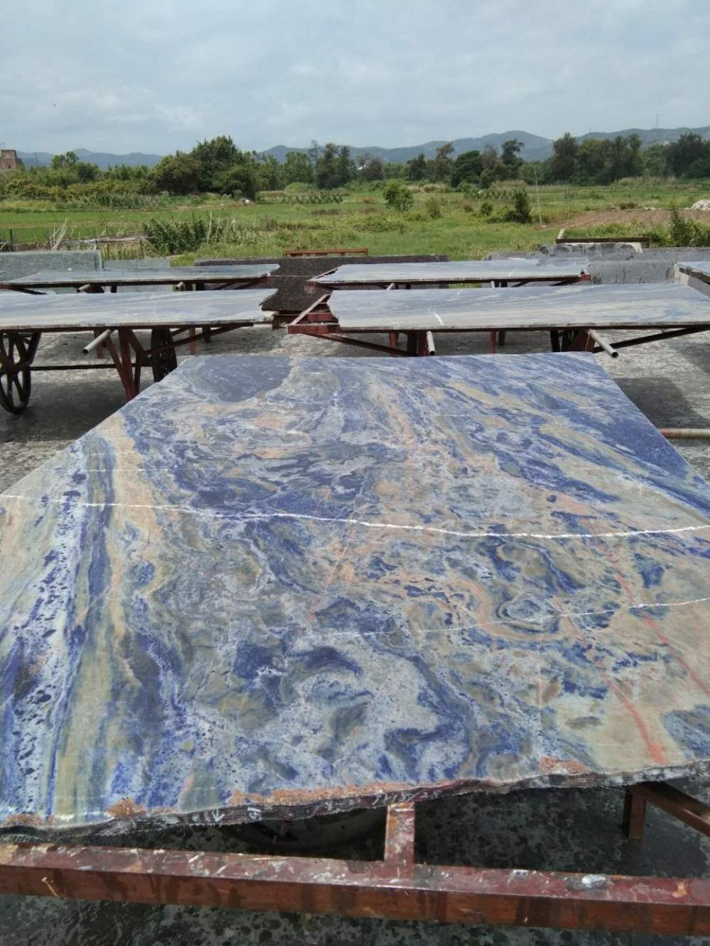 Blue Sodalite Slab 2