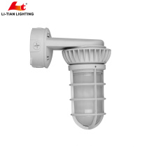 Industrial atacado levou armazenamento a frio de armazenamento de vapor apertado levou à prova de intempéries ao ar livre à prova de água do teto lâmpada ip65 levou à prova d 'água vapor apertado