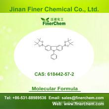 Cas 618442-57-2 | 9 - Fenil - 3,6 - bis (4,4,5,5 - tetrametil - 1,3,2 - dioxaborolan - 2 - il) - 9H - carbazol | 618442-57-2; precio de fábrica; valores