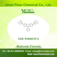 Cas 618442-57-2 | 9-Fenil-3,6-bis (4,4,5,5-tetrametil-1,3,2-dioxaborolan-2-il) -9H-carbazole | 618442-57-2; preço de fábrica; estoque