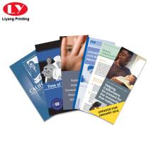 Servicio de impresión de panfletos folleto Folleto