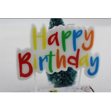 Đầy màu sắc Happy Birthday Letter Candles