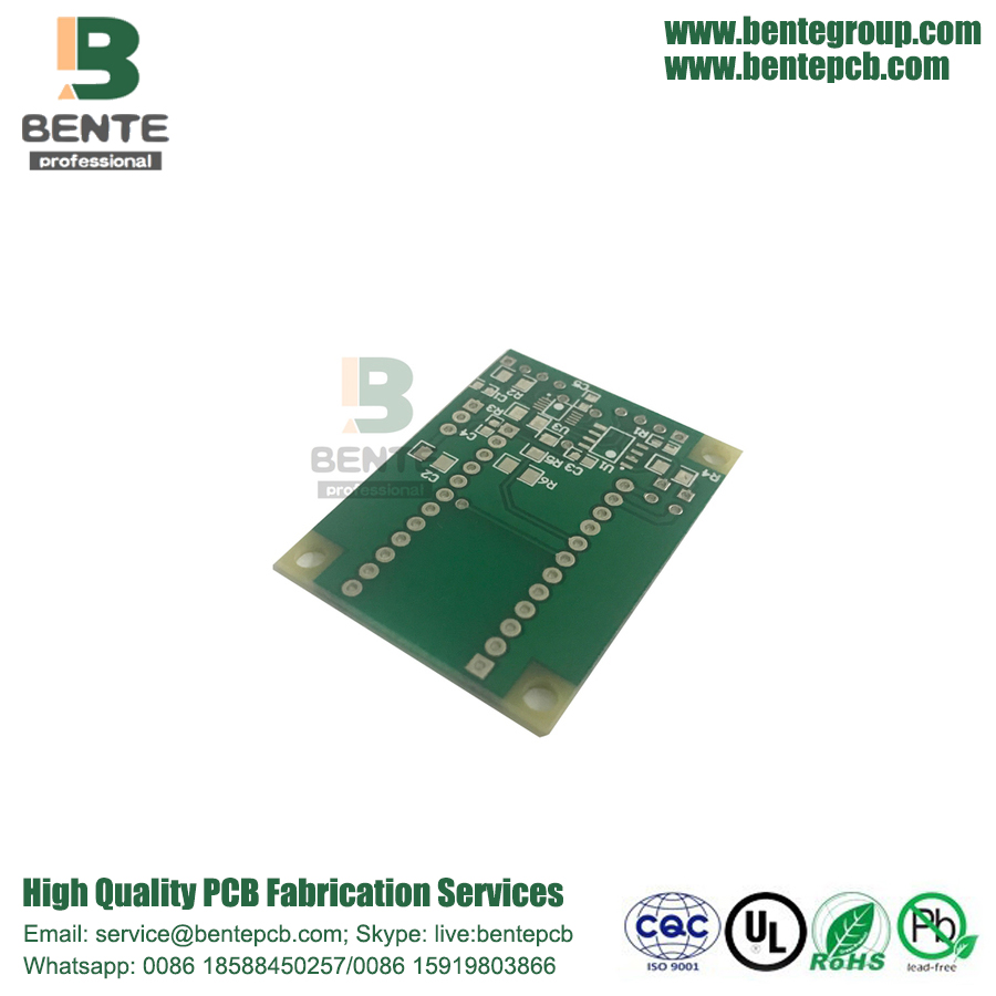 Small Single Size Board 2 Layer Smart Gadgets PCB