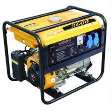 Sistema de generador de la gasolina de la aprobación 2kw 5.5HP del CE (WH2600-X)