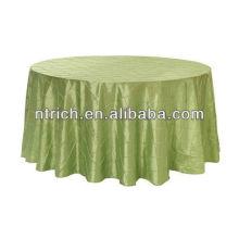 mantel de tafetán, lino de tabla, mantel pintuck