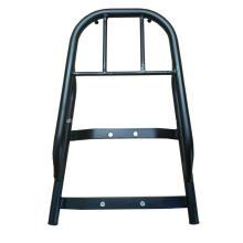 Support de boîte à outils d'extension de siège de queue de moto en acier
