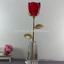 Vente chaude haute qualité Crystal Rose pour le mariage