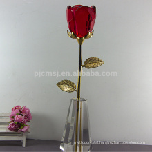 Hot Sale High Quality Crystal Rose For Wedding