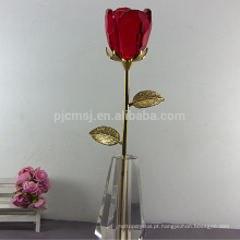Venda quente de alta qualidade de cristal rosa para o casamento