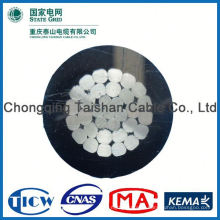 Professional Factory Supply!! High Purity overhead awg abc cable duplex triplex quadruplex service drop