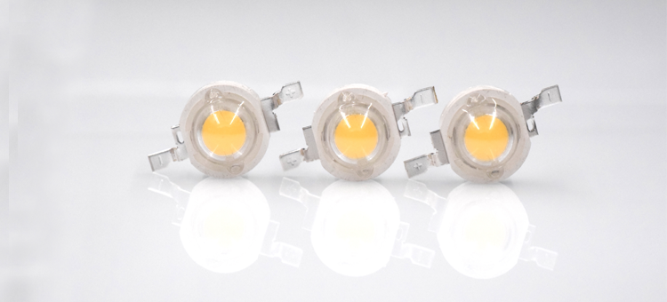 High Power White LED 3000K 1W