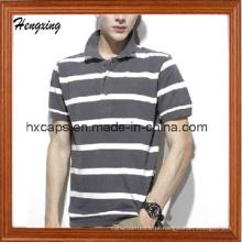 T-shirt casual de algodão de moda para homem