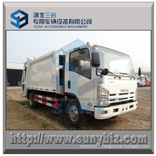Isuzu 4X2 Refuse Truck 8 M3 Garbage Compactor Truck