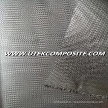 Los dos lados PU de revestimiento de fibra de vidrio de tela para manta ignífuga
