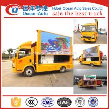Camión de publicidad móvil HOWO 4X2