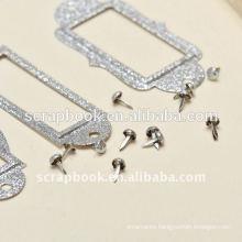 simple sliver glitter fram mini picture frame/price tag frame