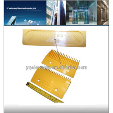 Hitachi escaleras mecánicas escalator peine placa, hitachi elevador china