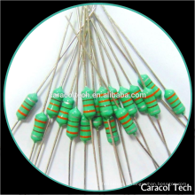 Inducteur axiale de bobine de bobine d'Al0307 1.0uH RF pour la diverse taille