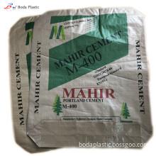 50kg pp plastic white cement bag