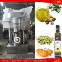 Erdnuss-Erdnuss Moringa-Leinsamen-Kürbiskernöl-Extraktions-Maschine