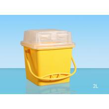 Китай Продукты Простой медицинский контейнер Sharp 2L
