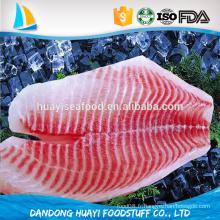 Filet de tilapia à haute teinte de qualité supérieure issu du producteur professionnel de filets de tilapia en Chine