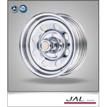 Factory Made Low Price Chrome Trailer Wheel Steel Car Wheels Rim