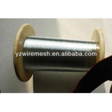 Fio de ferro galvanizado a quente de 0,28mm-5.0mm de baixo preço para cabo