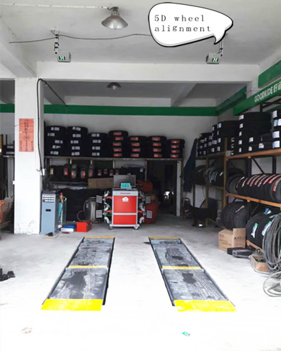 5D Wheel Alignment Producer