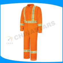 220gsm огнеупорная рабочая одежда из хлопка для нефтяной, газовой, морской промышленности