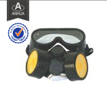 Military Police Half Face Gas Mask with Two Canisters