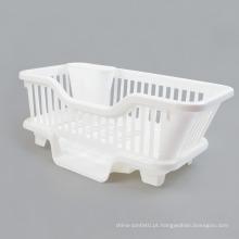 Cremalheira da bacia de 6571 plásticos, cremalheira de pratos, cremalheira de secagem plástica do prato