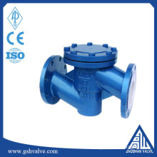 lift fluorine lined wcb check valve