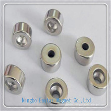 NdFeB Cup Shape Magnet with High Quality Plating