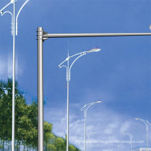 Q235 Galvanized Metal Poles in Street Light