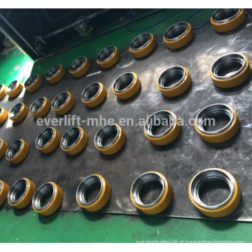 Rodas para empilhador elétrico e paleteira, incluindo nylon e borracha PU