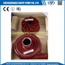 Horizontal slurry pump high chrome spare parts