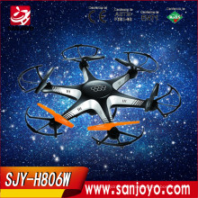 Mano de obra fina F806W quadcopter con fpv wifi cámara drone 6 aixs 2.4g gryo Hexacopter para ventas al por mayor