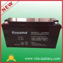 Batterie de stockage SLA AGM 12V150ah pour le système de secours solaire