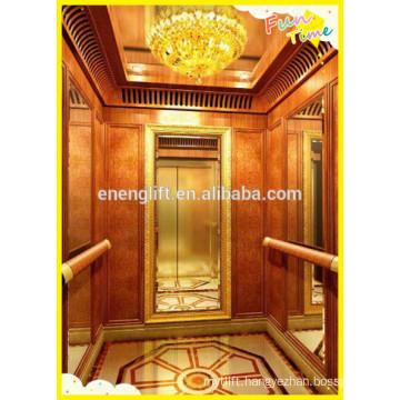 high quality residential machine room less passenger elevator