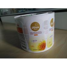 Customized Printing Cosmetic Private Clear BOPP Label