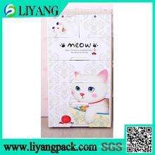 Cute Cat Design, película de transferencia de calor para la caja de clasificación