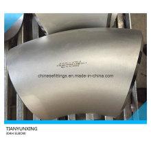 Rayon long 45 degrés A403 304h Coude en acier inoxydable