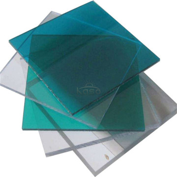 Feuille solide en polycarbonate incassable anti-rayures