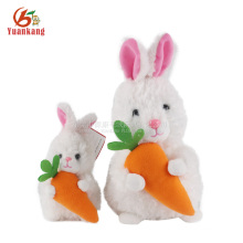ICTI factory custom soft toy wholesale stuffed plush white rabbit easter bunny toy